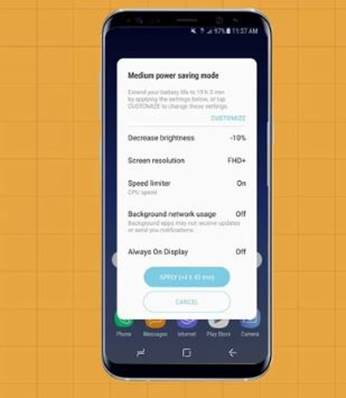 Power Saving Model on Android