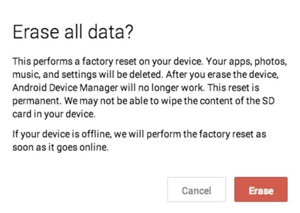 Will Data from Android
