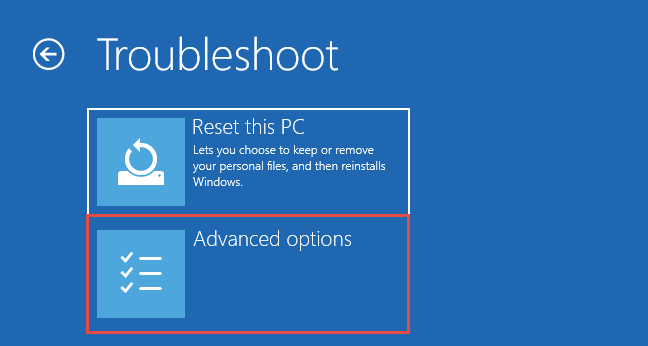 Windows 10 Troubleshoot