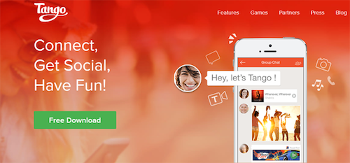 tango messenger android