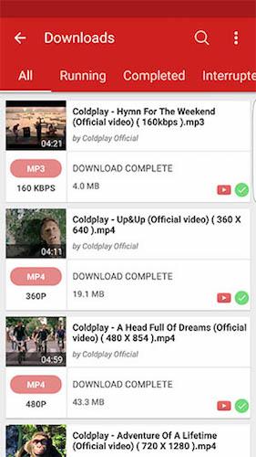 videoder youtube downloader