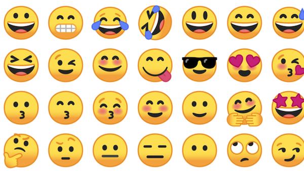 android stock emoji