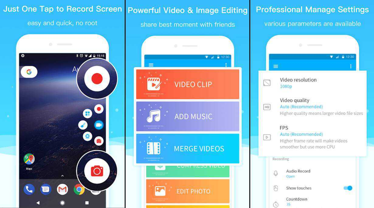 Super Screen Recorder for Android