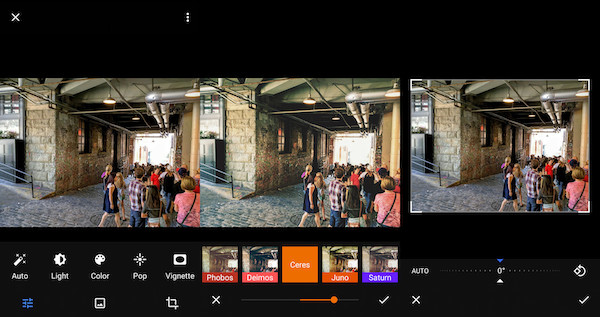 google photo editor android