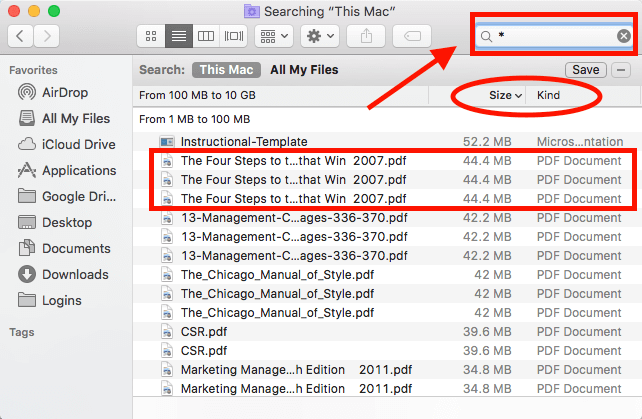 Using Finder to Locate and Delete Duplicate Files