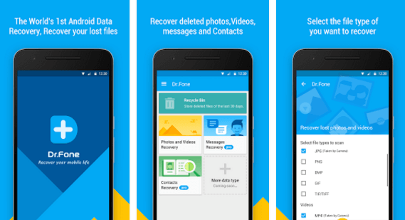 Wondershare Dr.Fone for Android app