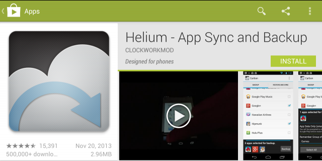 How to Use Helium Backup App | Free Downloads, Reviews and Alternatives