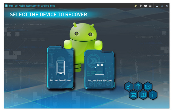 MiniTool® Mobile Recovery for Android Free 1.0