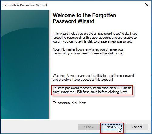 change password on windows server 2012 r2