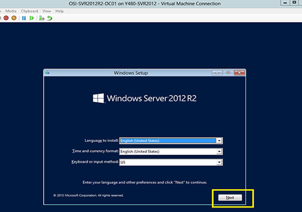 Reset Windows Server 2012